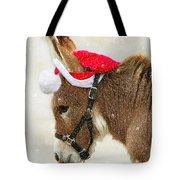 The Christmas Donkey Tote Bag