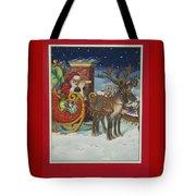 The Christmas List Tote Bag