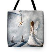 The Christmas Star Original Artwork Tote Bag