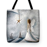The Christmas Star Original Artwork Tote Bag