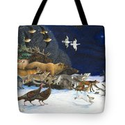 The Christmas Star Tote Bag by Lynn Bywaters