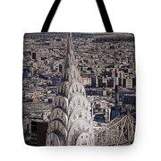 The Chrysler Building Tote Bag