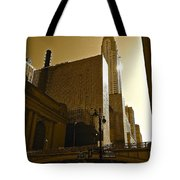 The Chrysler Building In Nyc Tote Bag