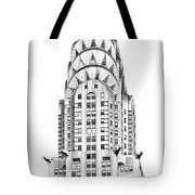 The Chrysler Building Tote Bag by Luciano Mortula