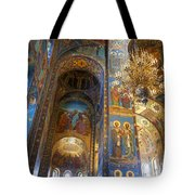 The Church Of Our Savior On Spilled Blood - St. Petersburg - Russia Tote Bag
