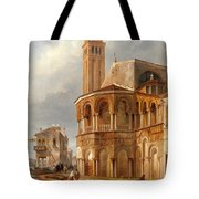 The Church Of Santa Maria E San Donato In Murano Tote Bag