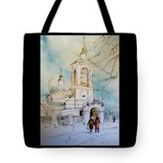 The Church On Sparrow Hill Tote Bag