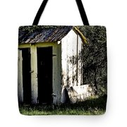 The Church Outhouse Tote Bag