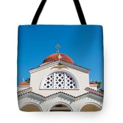 The Church Saints Constantine And Helen Tote Bag