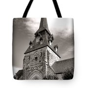 The Church With The Dormers On The Steeple Tote Bag