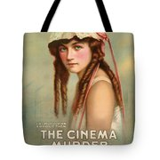 The Cinema Murder  Tote Bag