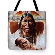 The Circle Of Life Tote Bag