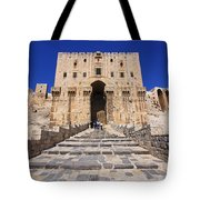 The Citadel In Aleppo Syria Tote Bag