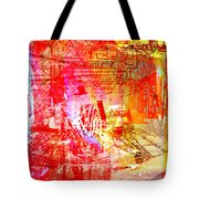 The City 22 Tote Bag