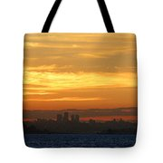 The City From Across The Bay Tote Bag