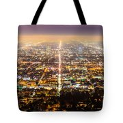 The City Grid Tote Bag