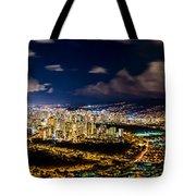 The City Of Aloha Tote Bag
