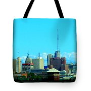 The City Of Festivals Tote Bag