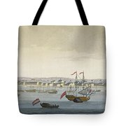The City Of Paramaribo Tote Bag