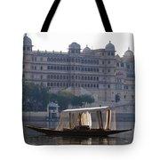 The City Palace, India Tote Bag