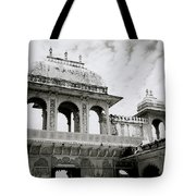 The City Palace Udaipur Tote Bag