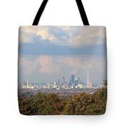 The City Skyline London Uk Tote Bag