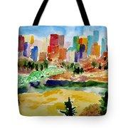The City Skyline Tote Bag