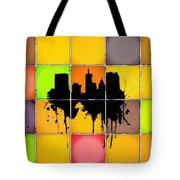 The City Splash Tote Bag