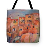 The City Walls Watch Tote Bag