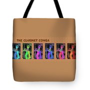 The Clarinet Conga Tote Bag