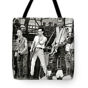 The Clash 1982 Tote Bag by Chuck Spang