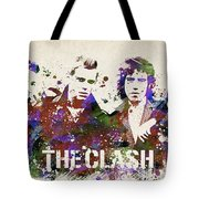 The Clash Portrait Tote Bag