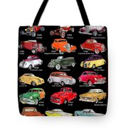 Ford Poster Art Tote Bag