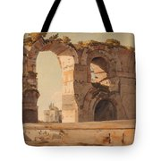 The Claudian Aquaduct Rome Tote Bag