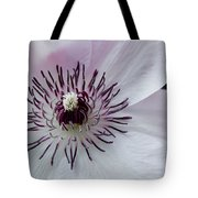 The Clematis Flower Tote Bag