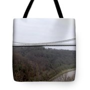 The Clifton Suspension Bridge Tote Bag