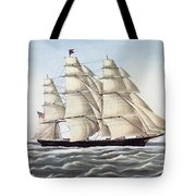 The Clipper Ship Flying Cloud Tote Bag
