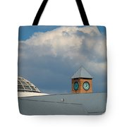 The Clock And The Dome Tote Bag