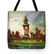 The Clock Tower Tote Bag