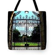 The Gate At Vizcaya Tote Bag