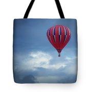 The Clouds Below - Hot Air Balloon Tote Bag
