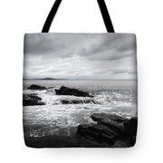 The Cloudy Day In Acadia National Park Maine Tote Bag