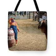 The Clown Tote Bag by Jerry McElroy