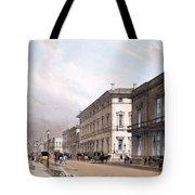 The Club Houses, Pall Mall, 1842 Tote Bag by Thomas Shotter Boys