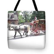 The Coachman Tote Bag