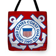 The Coast Guard Shield Tote Bag