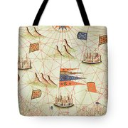 The Coast Of Tunisia And The Gulf Of Gabes, From A Nautical Atlas Of The Mediterranean And Middle Tote Bag