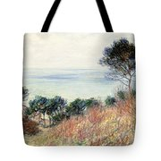 The Coast Of Varengeville Tote Bag