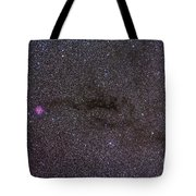 The Cocoon Nebula In The Constellation Tote Bag by Alan Dyer