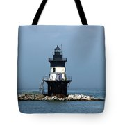 The Coffee Pot Lighthouse Tote Bag